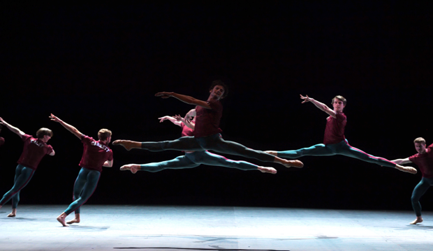 ENB in Playlist (Track 1, 2) by William Forsythe, photo Laurent Liotardo
