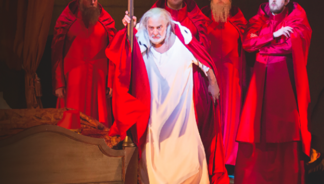 Placido Domingo as Francesco Foscari (C) HERWIG PRAMMER/THEATER AN DER WIEN, 2014