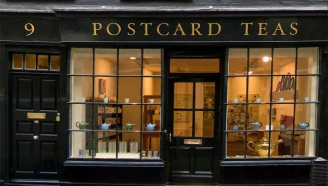 The beautiful Postcard Teas, Mayfair