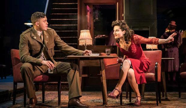 Aaron Heffernan and Kate Fleetwood: Absolute Hell, National Theatre review