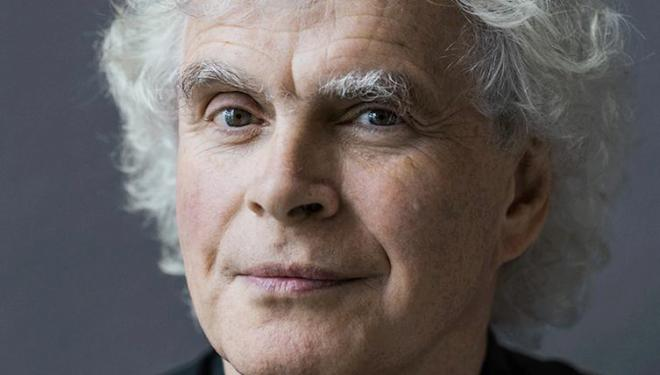 Sir Simon Rattle conducts the London Symphony Orchestra in ravishing Ravel. Photo: Oliver Helbig