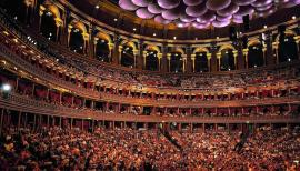 Music-lovers pack the Royal Albert Hall for the BBC Proms. Photo: Chris Christodoulou