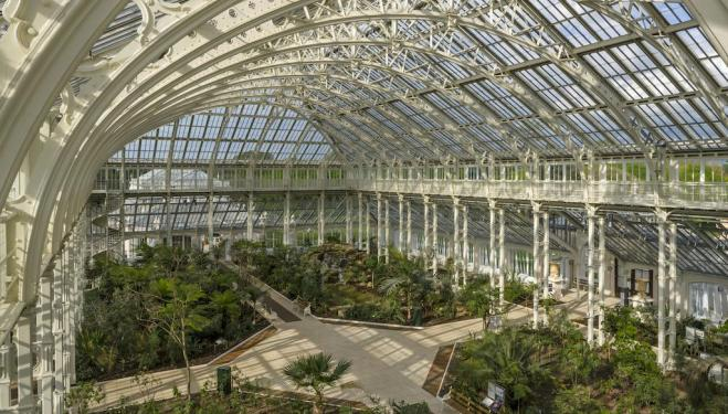 The greatest glasshouse in the world reopens