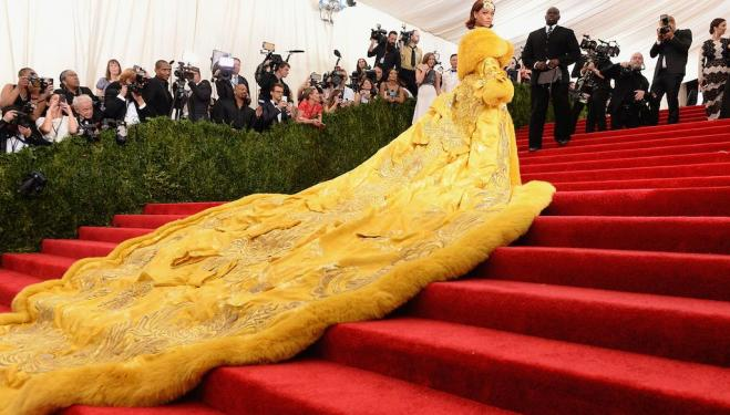 Yellow is Forbidden Guo Pei Rihanna Met Gala