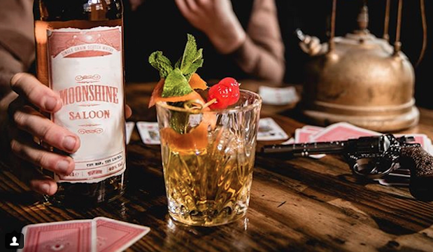 A pop-up wild west-themed cocktail car is coming to London