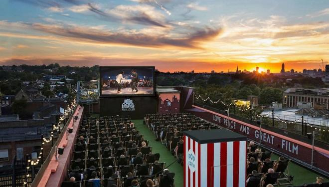 Films with a view across London