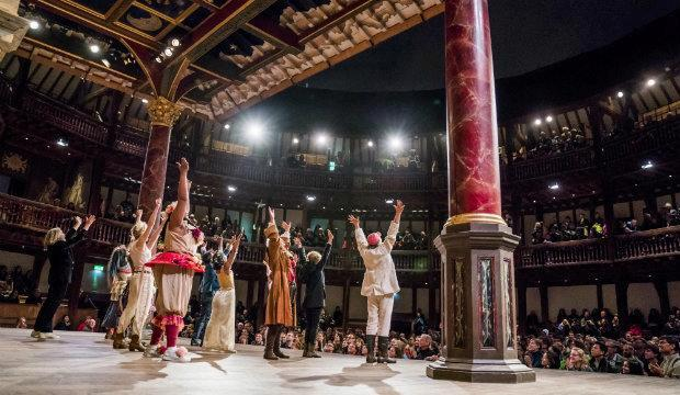 As You Like It, The Globe Ensemble. Photo by Tristram Kenton