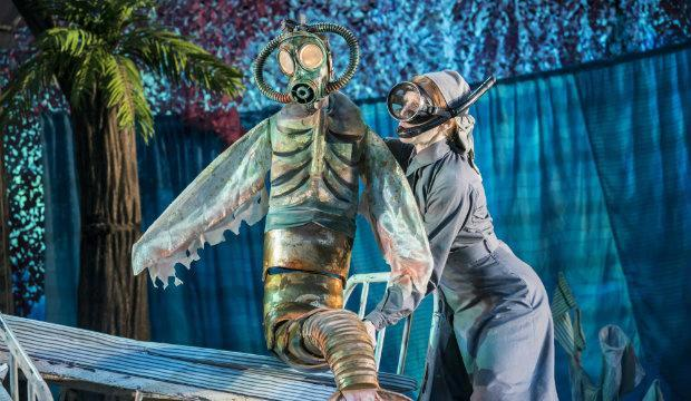 Peter Pan flies back to the Open Air Theatre