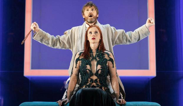 Paul Anderson and Audrey Fleurot in Tartuffe