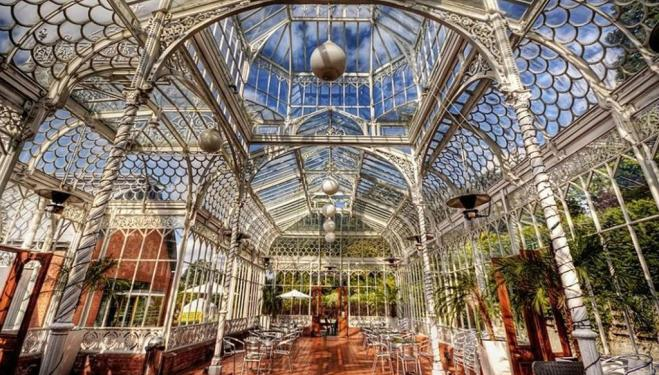The Victorian conservatory at the Horniman Museum, Forest Hill