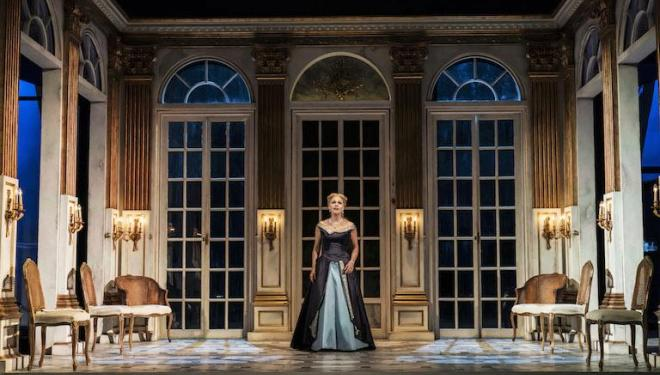 Miah Persson is radiant as the Countess in Capriccio at Garsington. Photo: Johan Persson