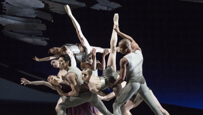 Artists of the Royal Ballet in Aeternum, Photo by Johan Persson