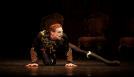 Mayerling, Edward Watson as Prince Rudolf, photo Alice Pennefather