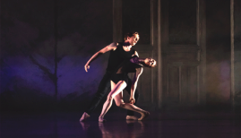 BRB, Kin, dancers Jenna Roberts and Joseph Caley, photo c/o BRB