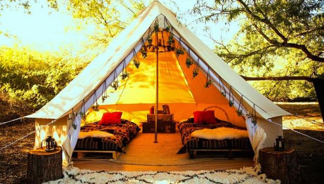 Where to go glamping in the UK