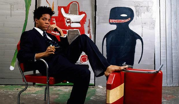 Portrait of the artist as a young man... Jean-Michel Basquiat. Photograph: Lizzie Himmel/AP/Brooklyn Museum