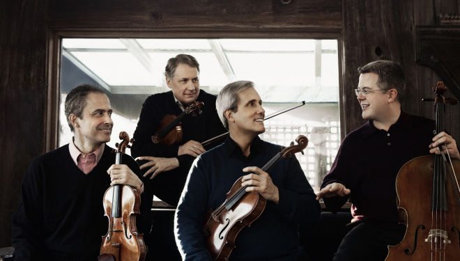 The multiple award-winning Emerson Quartet (Credit: Lisa-Marie Mazzucco)
