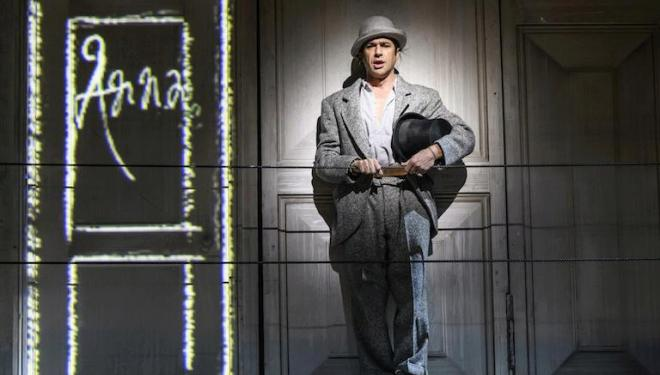 Ildebrando D'Arcangelo as manservant Leporello in Mozart's Don Giovanni at the Royal Opera House. Photo: Bill Cooper