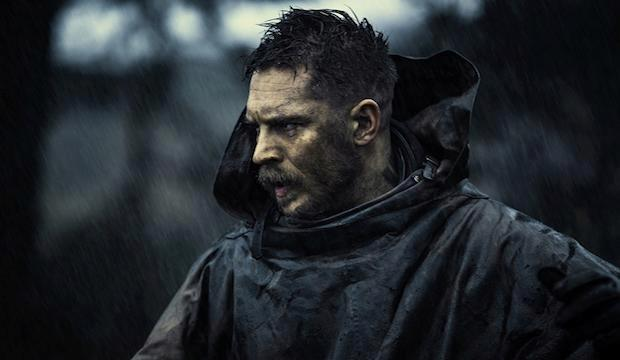 Tom Hardy in Taboo on BBC 1