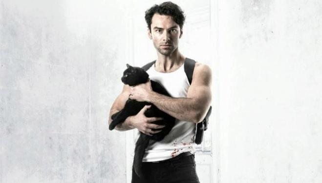 Aidan Turner crackles with wit in The Lieutenant Of Inishmore