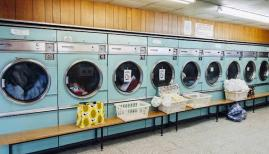 Barbican Launderette. Photo: Andy Parsons