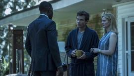 Ozark Season Two, Jason Bateman, Laura Linney, and McKinley Belcher III in Ozark