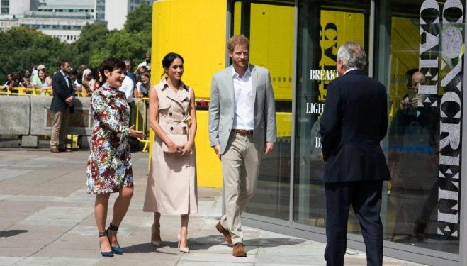 The Duke and Duchess of Sussex visit Southbank Centre. Image: Alice Boagey