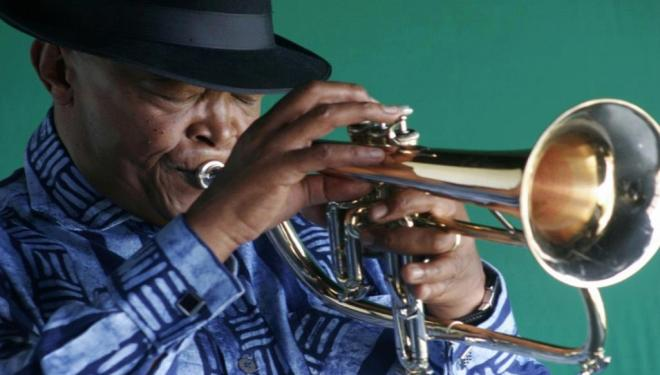 The late Hugh Masekela to whom tribute will be paid during the festival
