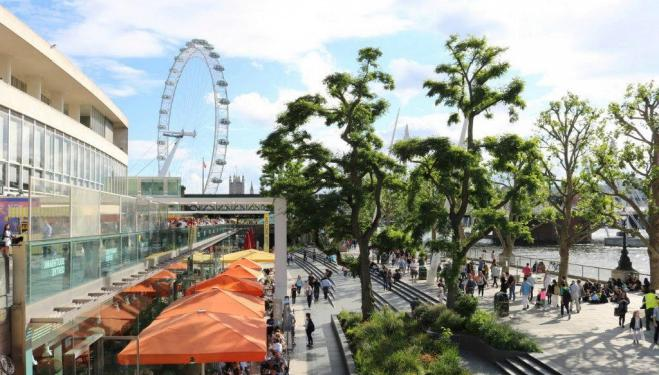 Make the most of South Bank in the sun