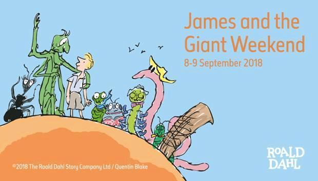 James and the Giant Weekend, Natural History Museum