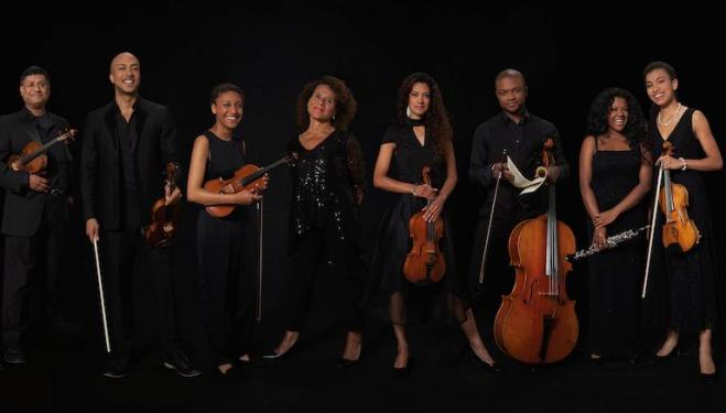 Chineke! Ensemble performs on 11 November. Photo: Eric Richmond