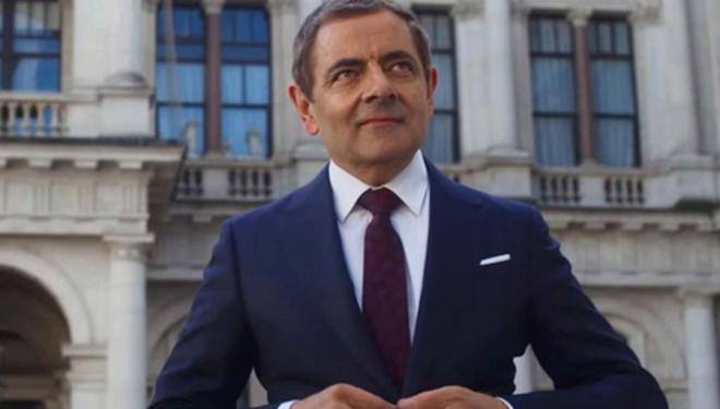 Rowan Atkinson in Johnny English Strikes Again