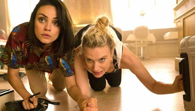 Mila Kunis and Kate McKinnon in the Spy Who Dumped Me