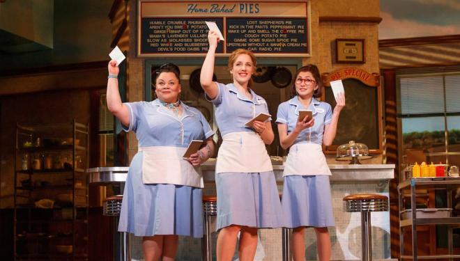 Opening up! Waitress is finally coming to the West End