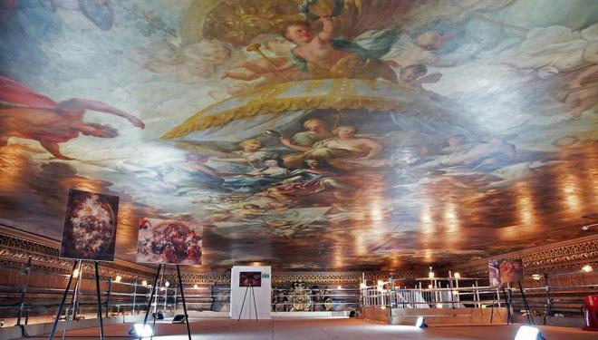 Painted Hall ceiling tours, Old Royal Navel College, August-September 2018