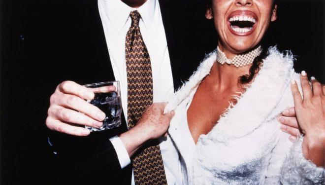 Jessica Craig-Martin  Hamptons Cocktail Party, July 1998  , 1998  Cibachrome print   61.3 x 92 cm  © Jessica Craig-Martin, 1998  Image courtesy of the Saatchi Gallery, London