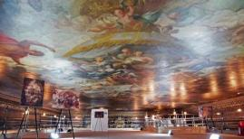 Painted Hall ceiling tours, Old Royal Naval College, August-September 2018