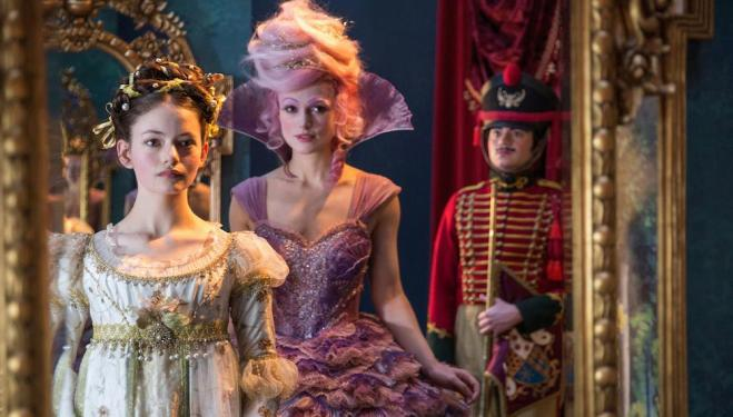 Disney's sugary Nutcracker looks marvellous but feels messy