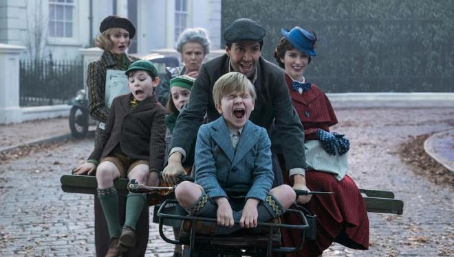 Mary Poppins returns just in time for Christmas, and everyone is invited