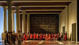 Verdi's spectacular Simon Boccanegra is at the Royal Opera House from 15 Nov. Photo: Clive Barda