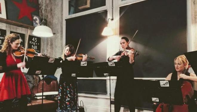 Classical Popups feature players from the Royal Philharmonic Orchestra