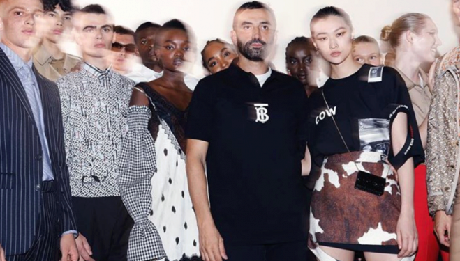 Riccardo Tisci debut Burberry collection