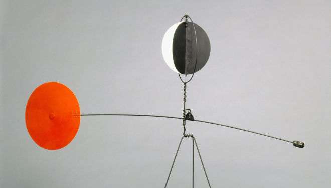 Alexander Calder, Red and Yellow Vane, 1934,  Calder Foundation, New York, NY, USA Photo credit: Calder Foundation, New York / Art Resource, NY © ARS, NY and DACS, London 2014, Courtesy of Tate Modern