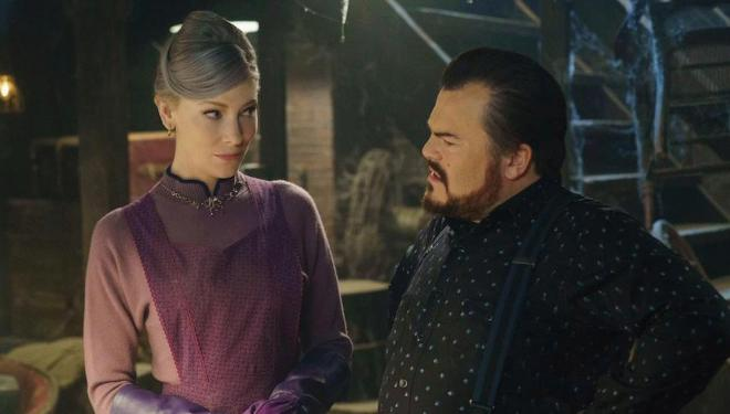 Cate Blanchett and Jack Black form a perfect pantomimic duo