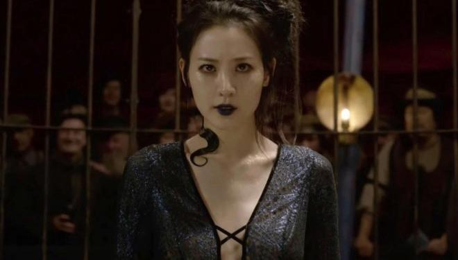 Claudia Kim in the new trailer for Fantastic Beasts: The Crimes of Grindelwald
