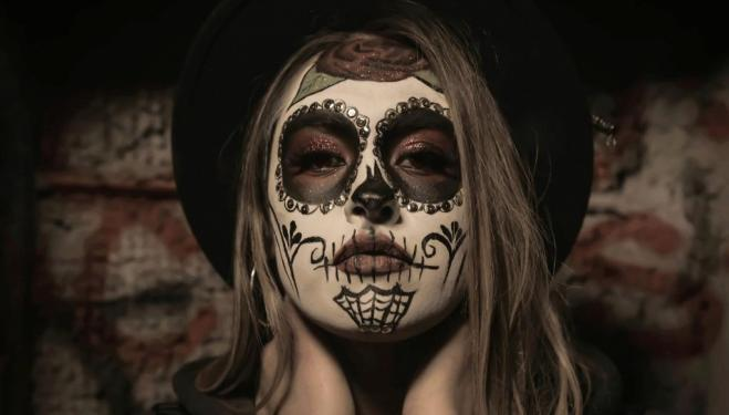 Halloween make-up 2018