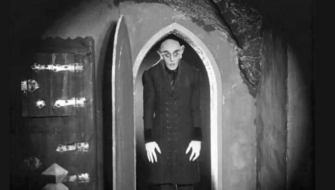 Max Schreck in Nosferatu: A Symphony of Horror