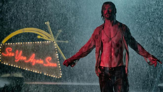 Bad Times at the El Royale: Chris Hemsworth means business