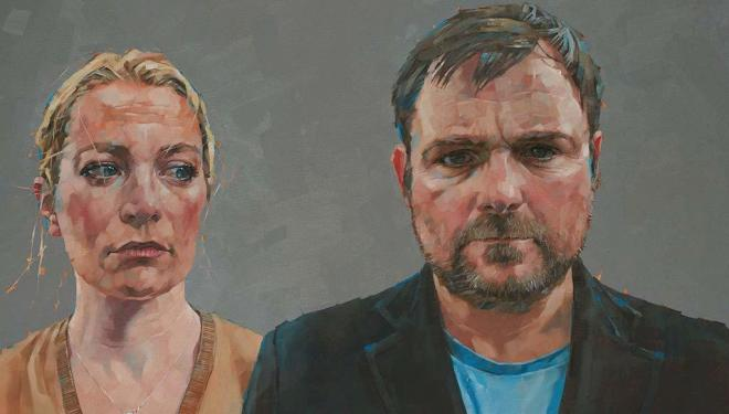 Sura Dohnke and Neil Maskell in Happy New Year Colin Burstead
