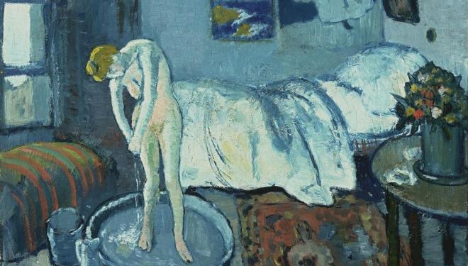 Best art exhibitions, Paris, autumn 2018: Picasso, La Chambre bleue, 1901